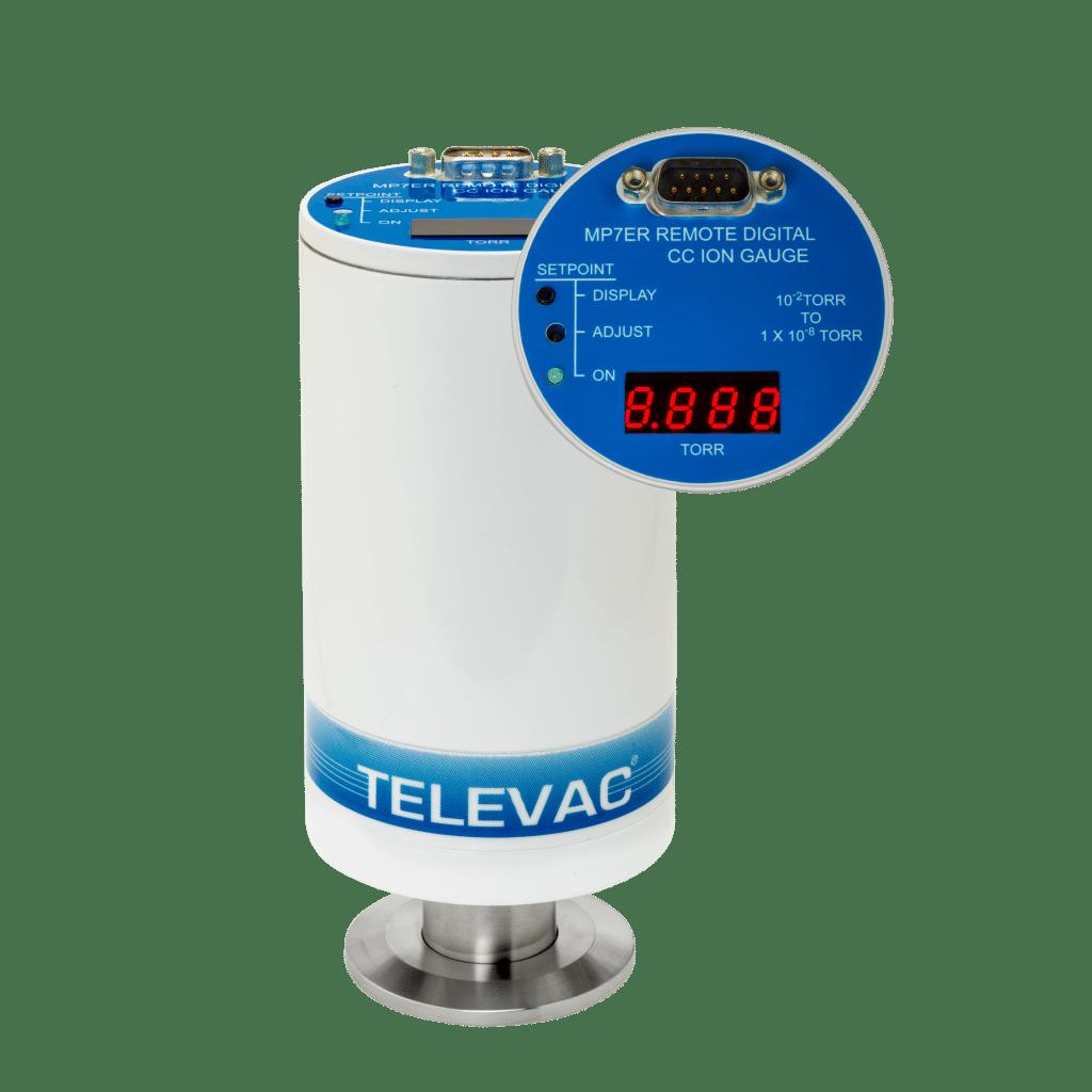 TELEVAC MV2A Thermocouple Vacuum Gauge Controller