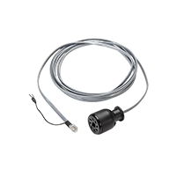 Televac 4A convection gauge vacuum gauge Pirani cable