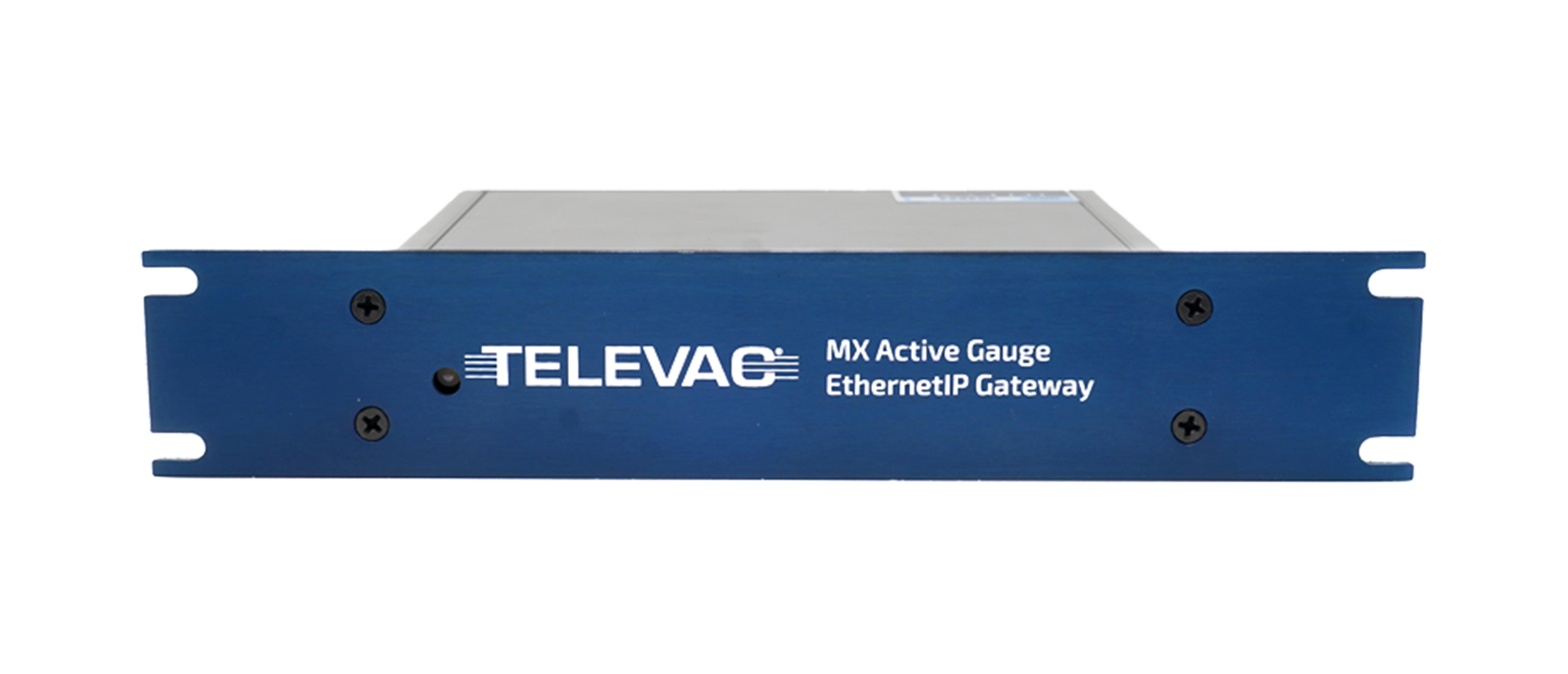 Televac EthernetIP active analog vacuum gauge active digital vacuum gauge vacuum controller vacuum control unit vacuum pressure controller
